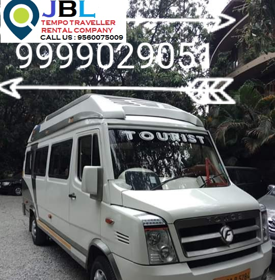 12 Seater Tempo Traveller on Rent
