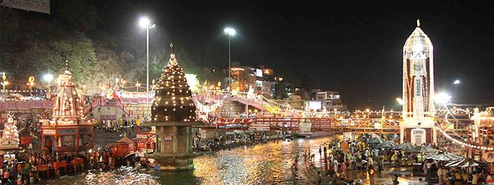 Tempo Traveller for Haridwar, Haridwar Tour package